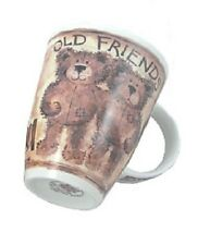 Roy Kirkham Fine English Bone China Tea or Coffee Mug Teddy Bears OLD FRIENDS