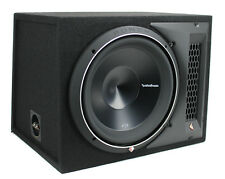 "New Rockford Fosgate P3-1X12 12"" 1200 Watt Single Loaded Subwoofer Sub Enclosure"