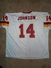 *IRREGULAR* Washington Redskins BRAD JOHNSON Jersey Adult MENS/MEN'S (3XL-XXXL)