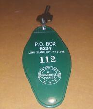 Vintage Key P.O. BOX Key Long Island NY New York key chain post office NYC