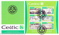 Celtic FC - Premiership Football Commemorative Stamp Sheet from Grenada
