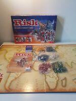 RISK BOARD GAME BY PARKER VINTAGE DATED 2004 COMPLETE