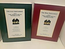 The Old and New Testament with the Jospeh Smith Translation-  2 books-  Hite