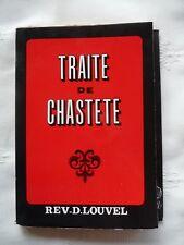 Traité de chasteté révérend Ren Louvel 1970 version intégrale