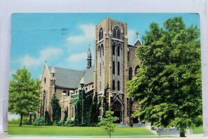 Kansas KS Topeka Grace Cathedral Postcard Old Vintage Card View Standard Post PC