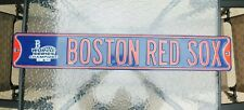 Boston Red Socks 2004 WORLD SERIES CHAMPIONS Metal Street Sign 3 Feet Long