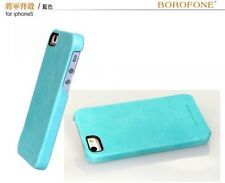 BOROFONE HOCO GENERAL Leather BACK Case for APPLE iphone 5/5s/SE BLUE H2441