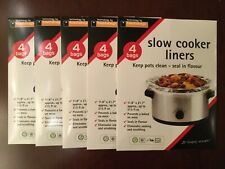 """20 Toastabags Crock Pot Slow Cooker Liners bags 11.8"""" x 21.7"""""""