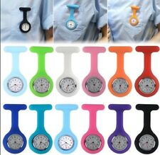 Watch Doctor Nurse Nurse Silicone with Safety Pin 2 Colors