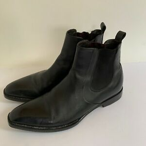 Hugo Boss Ankle Boots Mens Size 8.5 Made in Italy