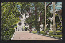 c1915 island curio Army Navy Y.M.C.A. military Honolulu Hawaii postcard