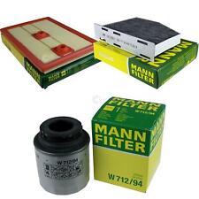 MANN-FILTER PAKET für VW Jetta IV 162 163 1.4 TSI 7N1 7N2 1.2 16V