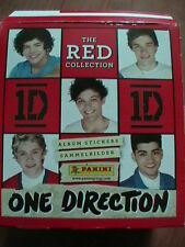 """ONE DIRECTION """"PANINI stickers of THE RED COLLECTION"""""""