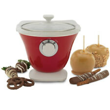 Gourmet Treat Dipper Fondue for Chocolate Melting & Dipping – Back to Basics
