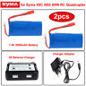2pcs 7.4V 2000mAh Lipo Battery+2in1 2S Balance Charger for Syma X8HW X8HC X8HG