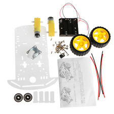 Car Chassis Kit Smart Robot Speed Control Encoder 2WD Battery Box For Arduino