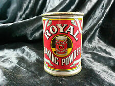 Boite Royal Baking Powder publicité tin box
