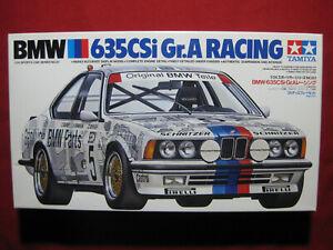 BMW 635CSi Group A Racing Schnitzer 1/24 Tamiya Japan Model Kit Car Rare Gr.A