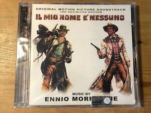 IL MIO NOME E NESSUNO (Morricone) OOP Screen Trax Ltd Score Soundtrack CD SEALED
