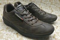 Ecco CFS Brown Leather Casual Oxfords Sneakers Loafers Mens Shoes 11 - 11.5 / 45