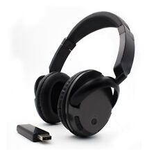 2.4G Wireless Headset Rechargeable Bluetooth Headphone with Microphone for TV PC