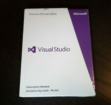 BRAND NEW Microsoft Visual Studio 2013 PREMIUM with MSDN SKU 9GD-00395