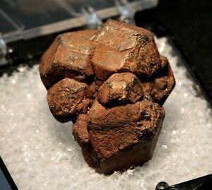 Betafite sharp crystal cluster fine TN Silver Crater Mine, Ontario, Canada