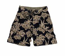 Kirra Men's Blue/Gray Floral Board Shorts Size M/L