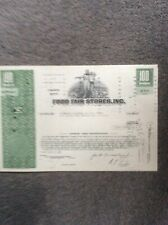 Food Fair Stores 1972 100 Shares Invalid  SHARE CERTIFICATE