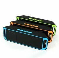 Wireless Bluetooth Speakers Portable Deep Bass Stereo Subwoofer AUX TF FM Radio