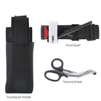 Outdoor Survival Tourniquet Trauma Shear Molle Pouch First Aid Kits for Camping