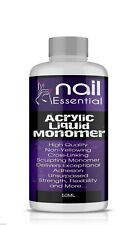 Nail Essential Acrylic Liquid Monomer Salon Quality 50ml