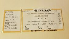 Vintage Rare Queensryche ticket stub @ Civic Arena Pittsburgh Pa 1991