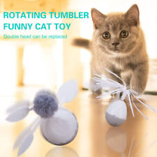 New listing Tumbler Swing Toys for Cats Chasing Interactive Balance Rotating Electric Us