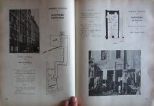 Rare LOCAUX de référence LOYERS URBANISME 1950 photos plans reconstruction