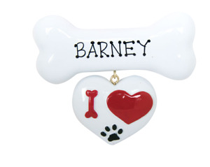 Personalised Christmas Ornaments/Decoration - Dog & Cat