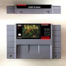 Secret of Mana 1 2 Game 16 bit Cartridge Console US Version Nintendo SNES