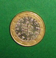 Kursmünze 1 Euro PORTUGAL 2002 - Siegel von 1144 von König Don Alfonso Henriques