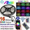 20M LED Strip Lights Bluetooth App Remote 5050 Controlled Light Strip Kit RGB
