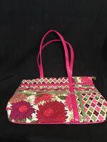 Vera Bradley Hello Dahlia Zippidy Tote Shoulder Bag - Retired, Rare, Beautiful!