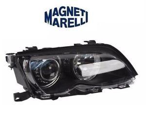 NEW Passenger Right Marelli Bi-Xenon Black Trim Headlight Headlamp for BMW E46