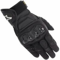 Alpinestars Celer GTX Short Leather Motorcycle Gore-Tex Waterproof Gloves - Blac