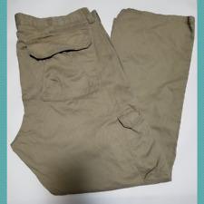 Wrangler Men's Beige High Rise Cargo Jeans | 38 x 30