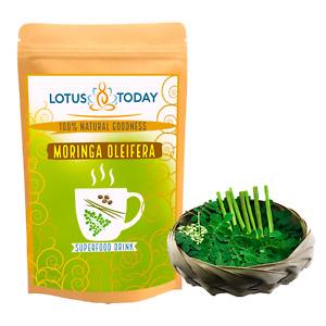 Pure Moringa Green Tea Caffeine Free Energy Booster Herbal tea *Better Tasting