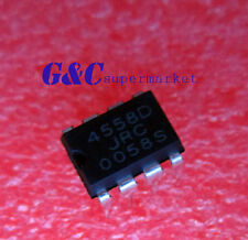 20PCS IC JRC4558D 4558D DIP8 OP AMP DIP8 NEW GOOD