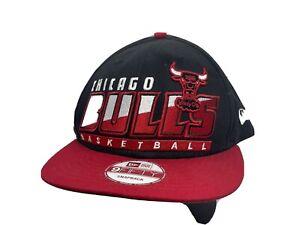 Chicago Bulls New Era Windy City Hardwood Classics Bold Snapback Spellout