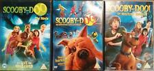 SCOOBY-DOO TRILOGY The Movie*Monsters Unleashed*Mystery Begins Geller DVD *EXC*