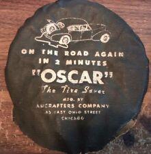 Vintage Original Auto Tire Part Antique