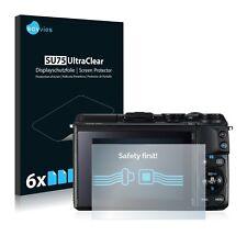 6x Protector Pantalla Canon EOS M3 Pelicula Protectora Transparente