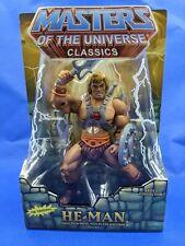 Masters of the Universe Classics MOTUC He-Man New in Box